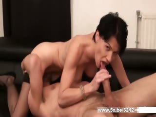 French lady anal fucked in stockings by William