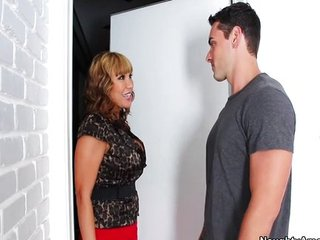 Ava Devine gets slammed by her son's friend
