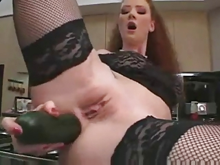 Redhead Audrey Extreme Penetrations - SAO
