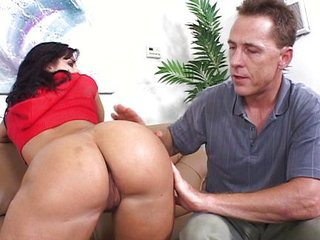 Riding a mature bimbo