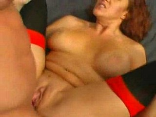 MILF redhead likes to be banged hard