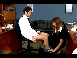 Felony Has Some Anal Fun In The Office