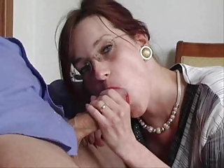 Mature russian in stockings