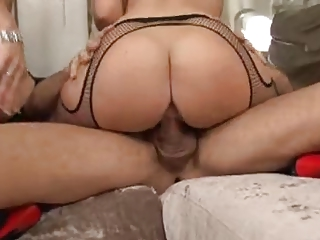 Debbi White get Anal Teached by a Big Cock ...DTTAT