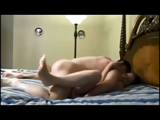 Big breasted wife on homemade