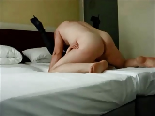 Cheating wife creampied on transparent homemade