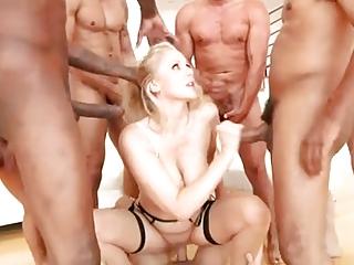 Julia First DP Anal, vaginal, & gangbang