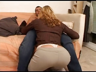 Pretty good milf fucked unconnected with 2 guys