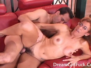 Hot MILF Screwed Helter-skelter Her Hairy Pussy