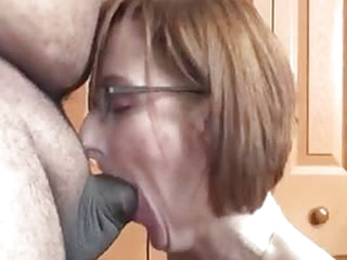 Ursula is creating hard cocks on fat old guys every where she goes