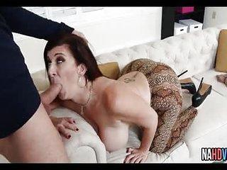 Fucking Super Thick Cougar Sara Jay Who Got Amazing Huge Hot Knockers