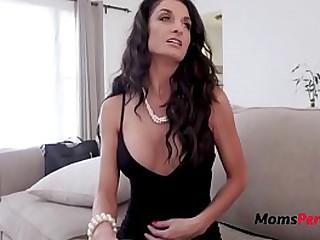 Hot Mom Fucks Slutty Son