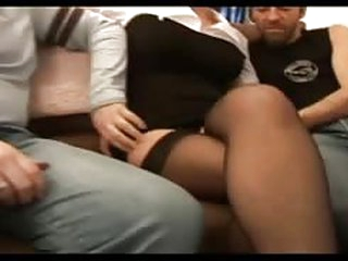 sex tube Marylin a beautiful french mature analfucked in stockings