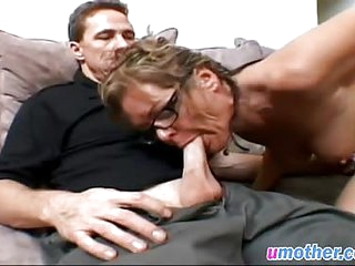 Mature slut with big tits getting her asshole destroyed