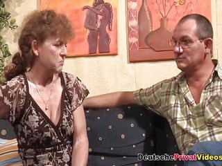 Slutty German mature rides cock getting her old body a fucking she hasnt had in years