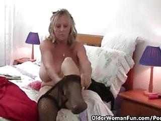 British housewives masturbating in pantyhose