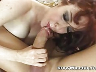 Mature brunette with hairy bush and big tits rides a long hard cock